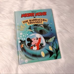 Mickey Mouse in the Barracuda Triangle Hardcover
